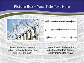 Stainless Barbed wire PowerPoint Template - Slide 18