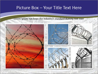 Stainless Barbed wire PowerPoint Template - Slide 19