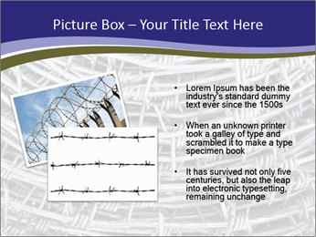 Stainless Barbed wire PowerPoint Template - Slide 20