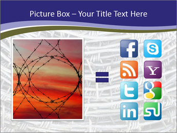Stainless Barbed wire PowerPoint Template - Slide 21
