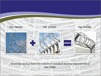 Stainless Barbed wire PowerPoint Template - Slide 22