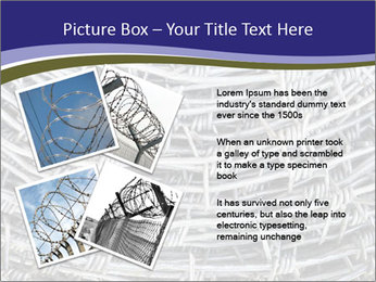 Stainless Barbed wire PowerPoint Template - Slide 23