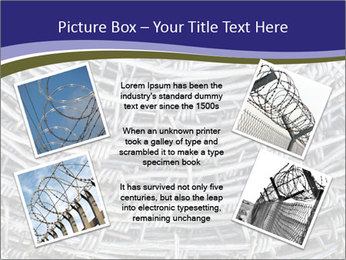 Stainless Barbed wire PowerPoint Template - Slide 24