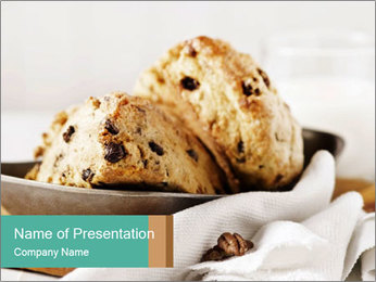 Sweet Pastry PowerPoint Templates - Slide 1