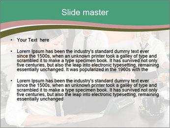 Barista Team PowerPoint Template - Slide 2
