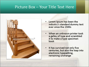Oak Staircase PowerPoint Template - Slide 13