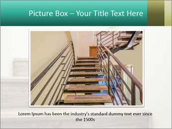 Oak Staircase PowerPoint Template - Slide 15