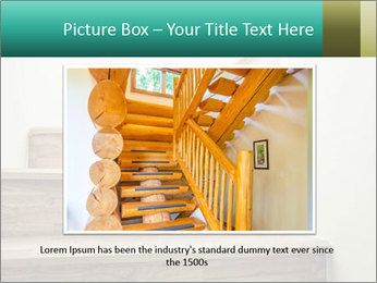 Oak Staircase PowerPoint Template - Slide 16