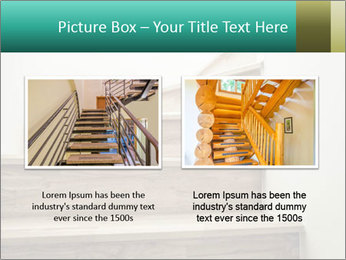 Oak Staircase PowerPoint Template - Slide 18