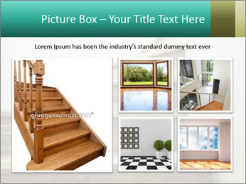 Oak Staircase PowerPoint Template - Slide 19