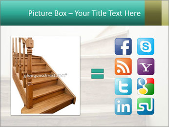 Oak Staircase PowerPoint Template - Slide 21