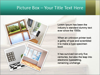 Oak Staircase PowerPoint Template - Slide 23