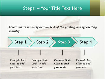 Oak Staircase PowerPoint Template - Slide 4