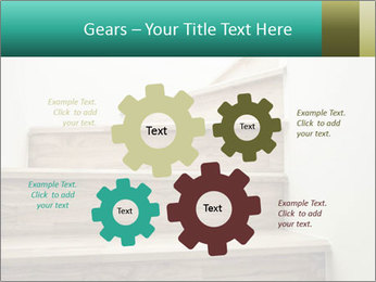 Oak Staircase PowerPoint Templates - Slide 47
