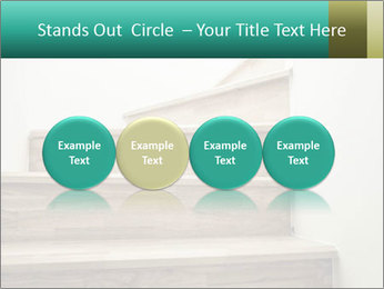 Oak Staircase PowerPoint Template - Slide 76