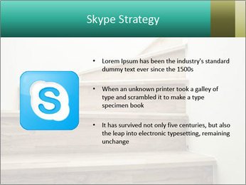 Oak Staircase PowerPoint Template - Slide 8