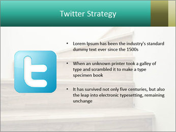 Oak Staircase PowerPoint Templates - Slide 9
