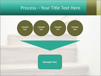 Oak Staircase PowerPoint Template - Slide 93