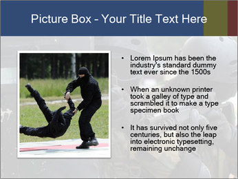 Police During Terrorism Attack PowerPoint Templates - Slide 13