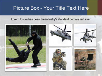 Police During Terrorism Attack PowerPoint Template - Slide 19