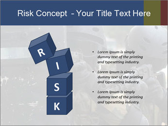 Police During Terrorism Attack PowerPoint Templates - Slide 81