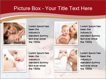 Mother Kisses Baby PowerPoint Template - Slide 14