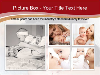 Mother Kisses Baby PowerPoint Template - Slide 19