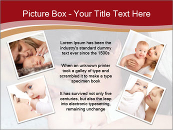 Mother Kisses Baby PowerPoint Template - Slide 24