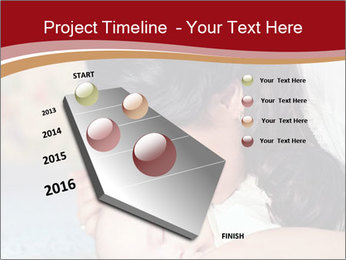 Mother Kisses Baby PowerPoint Template - Slide 26