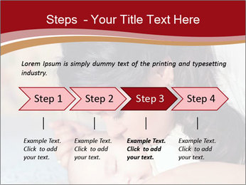 Mother Kisses Baby PowerPoint Template - Slide 4