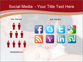 Mother Kisses Baby PowerPoint Template - Slide 5