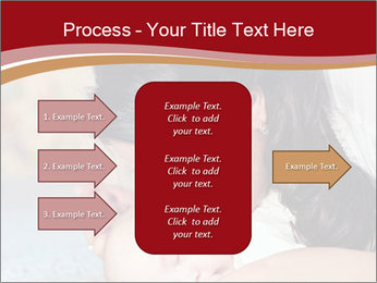 Mother Kisses Baby PowerPoint Template - Slide 85