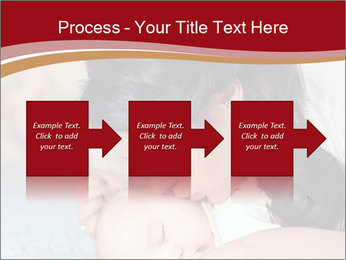 Mother Kisses Baby PowerPoint Template - Slide 88