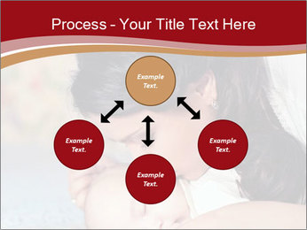 Mother Kisses Baby PowerPoint Template - Slide 91