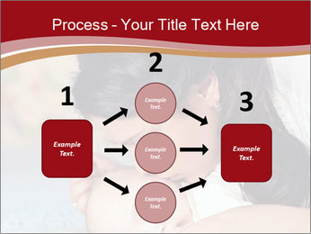 Mother Kisses Baby PowerPoint Template - Slide 92