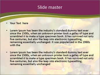 Bee In Garden PowerPoint Template - Slide 2