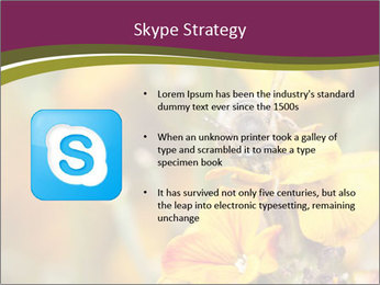 Bee In Garden PowerPoint Template - Slide 8