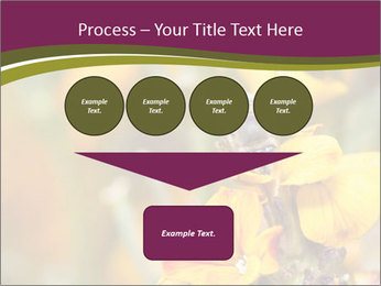 Bee In Garden PowerPoint Template - Slide 93