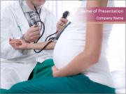 Doctor And Pregnant Woman PowerPoint Templates