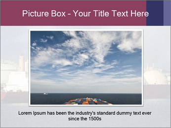 Shipping Boat PowerPoint Templates - Slide 15