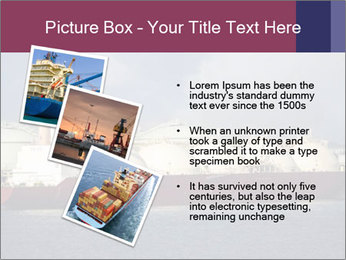 Shipping Boat PowerPoint Templates - Slide 17