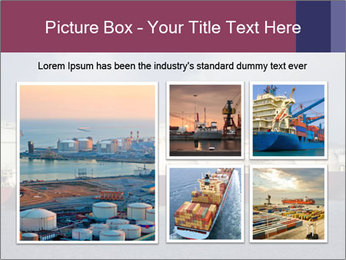 Shipping Boat PowerPoint Templates - Slide 19