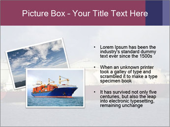 Shipping Boat PowerPoint Templates - Slide 20