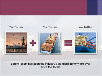 Shipping Boat PowerPoint Templates - Slide 22