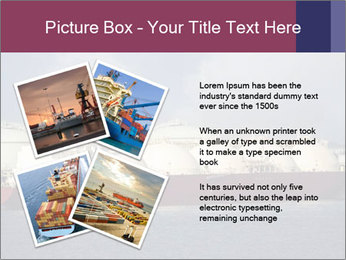 Shipping Boat PowerPoint Templates - Slide 23