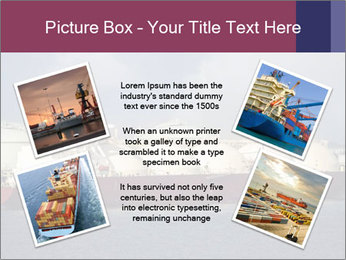 Shipping Boat PowerPoint Templates - Slide 24