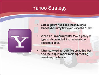 Red And White Truck PowerPoint Template - Slide 11