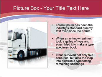 Red And White Truck PowerPoint Template - Slide 13
