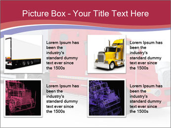 Red And White Truck PowerPoint Template - Slide 14