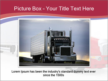Red And White Truck PowerPoint Template - Slide 15